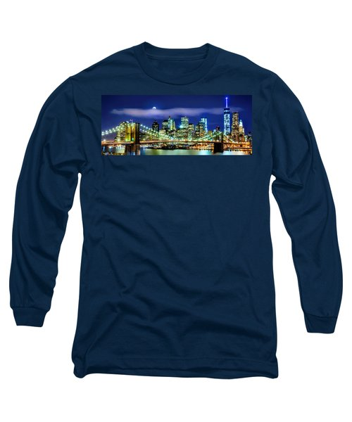 Watching Over New York Long Sleeve T-Shirt