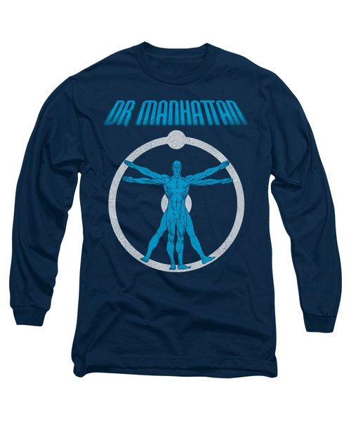 Watchmen - Anatomy Long Sleeve T-Shirt