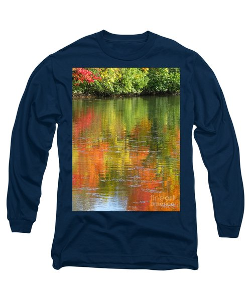 Water Colors Long Sleeve T-Shirt by Ann Horn