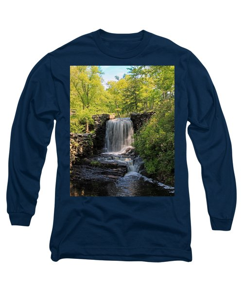 Water Fall Moore State Park 2 Long Sleeve T-Shirt
