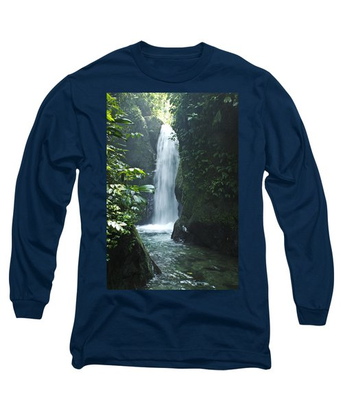 Waterfall Long Sleeve T-Shirt by Lana Enderle