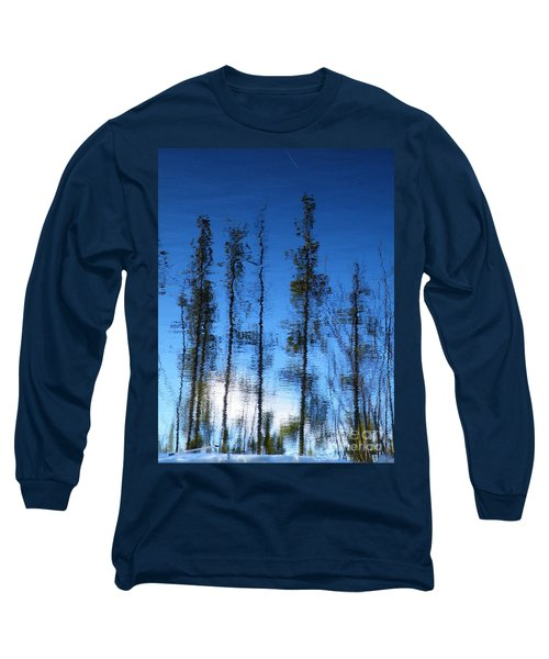 Wavering Long Sleeve T-Shirt by Brian Boyle