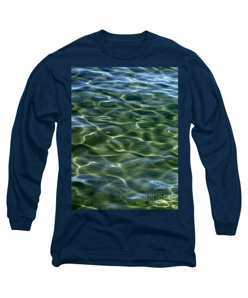 Waves On Lake Tahoe Long Sleeve T-Shirt