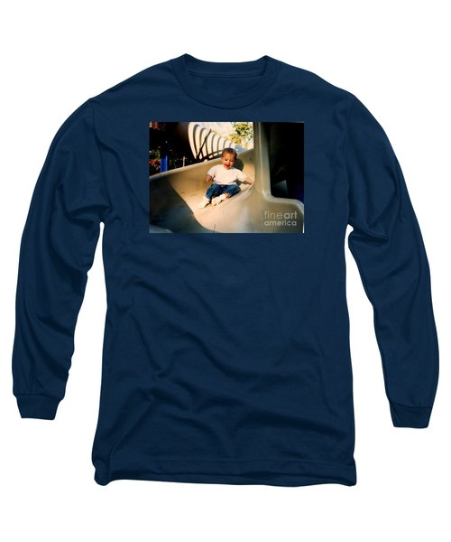 Long Sleeve T-Shirt featuring the photograph Weeeee by Kelly Awad