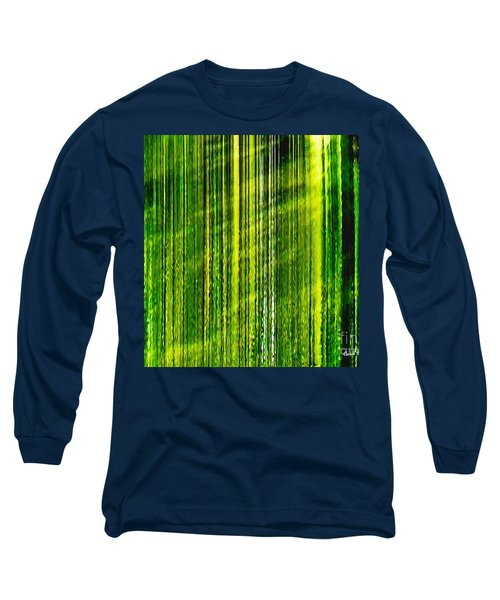 Weeping Willow Tree Ribbons Long Sleeve T-Shirt