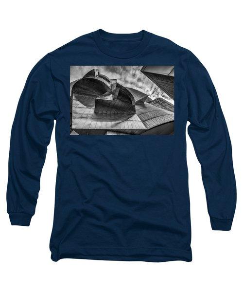 Weisman Art Museum Long Sleeve T-Shirt by Tom Gort