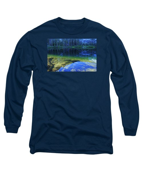 Long Sleeve T-Shirt featuring the photograph Welcome To Eagle Lake by Sean Sarsfield