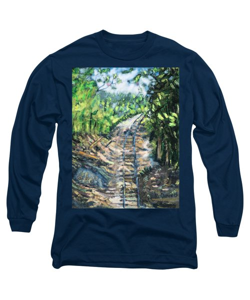 What's Around The Bend? Long Sleeve T-Shirt