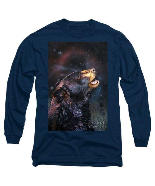Where Do I Belong Now Long Sleeve T-Shirt by J W Baker