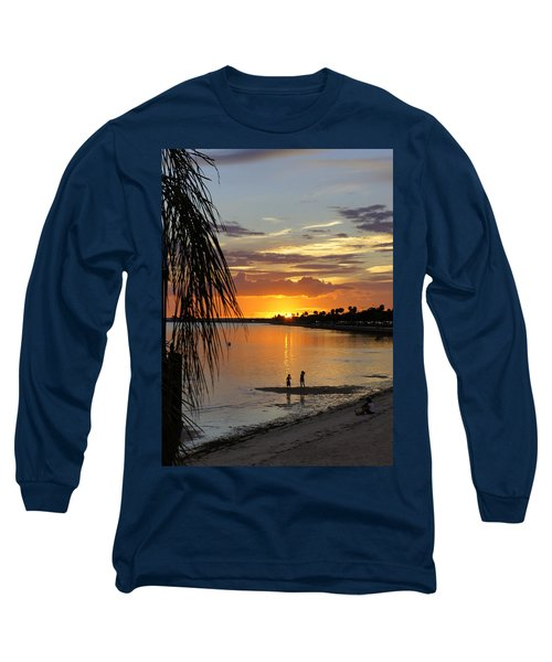 Long Sleeve T-Shirt featuring the photograph Whiskey Joe's by Laurie Perry
