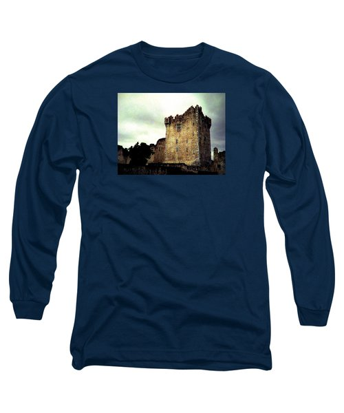 Long Sleeve T-Shirt featuring the photograph Whispers And Footsteps by Angela Davies