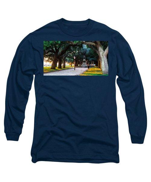 White Point Garden Walkway Charleston Sc Long Sleeve T-Shirt