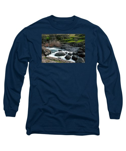 Whitewater At Bear Hole Long Sleeve T-Shirt