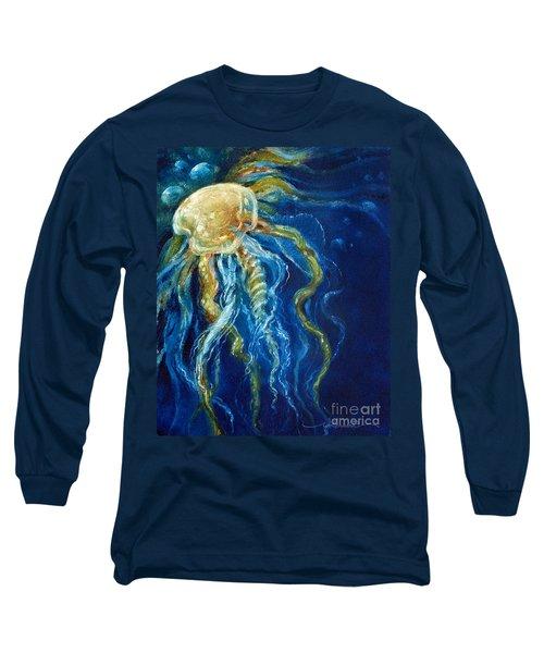 Wild Jellyfish Reflection Long Sleeve T-Shirt