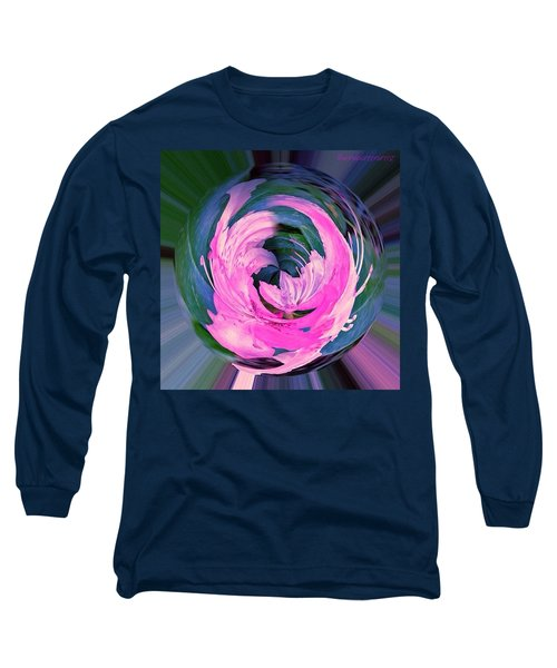 Winged Azalea Long Sleeve T-Shirt