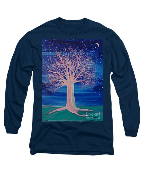 Winter Fantasy Tree Long Sleeve T-Shirt
