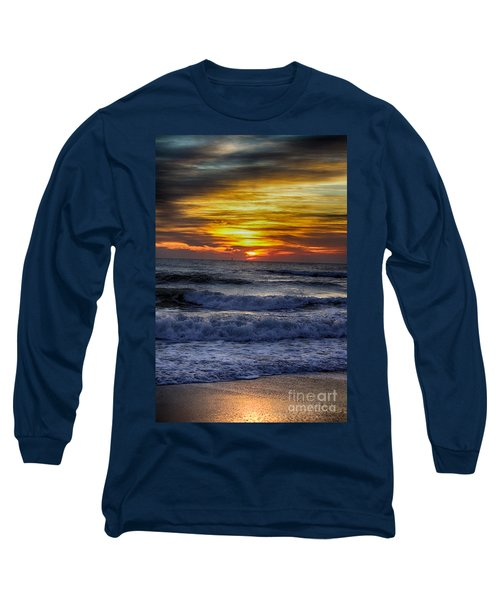 Winter North Carolina Sunrise Long Sleeve T-Shirt