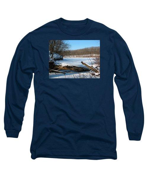 Winter On Sauk Lake 2 Long Sleeve T-Shirt