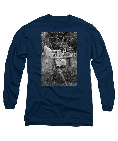 Wood Bench Long Sleeve T-Shirt