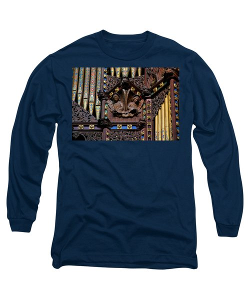 Wooden Angels Ely Cathedral Long Sleeve T-Shirt