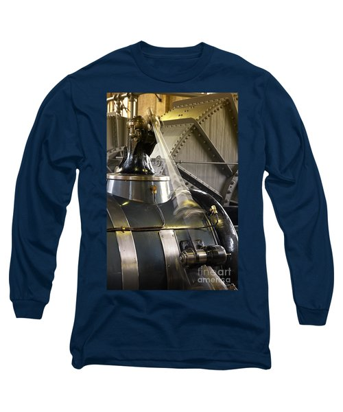 Woudagemaal Steam Engine. Long Sleeve T-Shirt