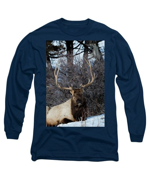 Wyoming Elk Long Sleeve T-Shirt