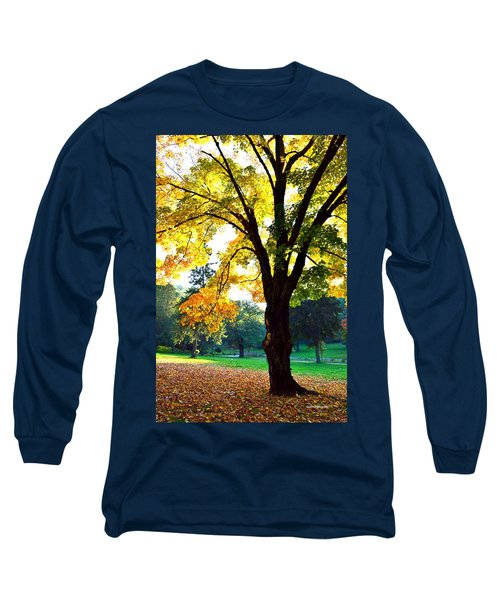 Yellow Highlights Long Sleeve T-Shirt