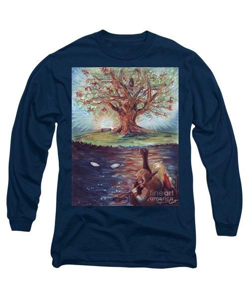 Yggdrasil - The Last Refuge Long Sleeve T-Shirt