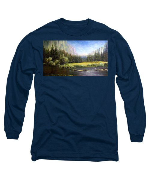 Yosemite Long Sleeve T-Shirt by Loxi Sibley