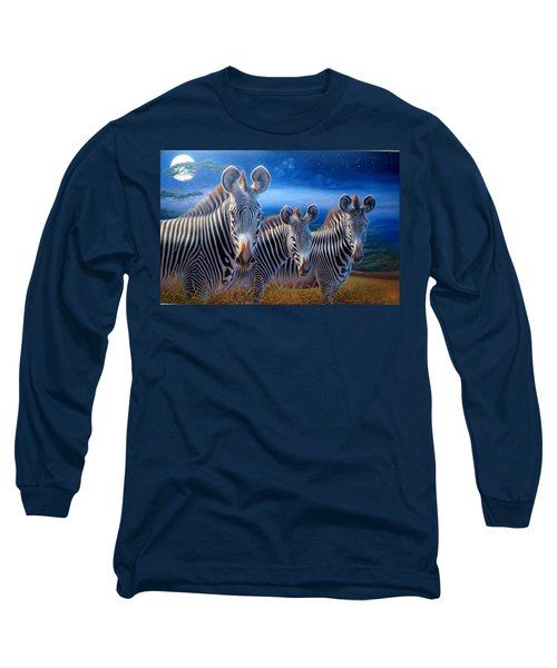 Zebras Long Sleeve T-Shirt by Hans Droog