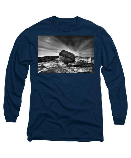 Zen Black White Long Sleeve T-Shirt