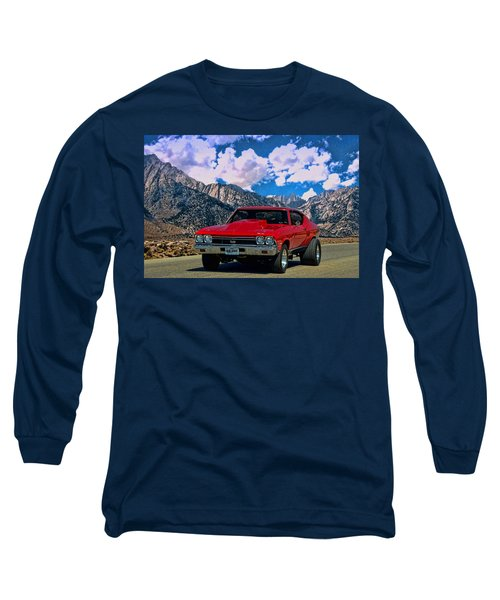 1968 Chevelle Super Sport Long Sleeve T-Shirt by Tim McCullough
