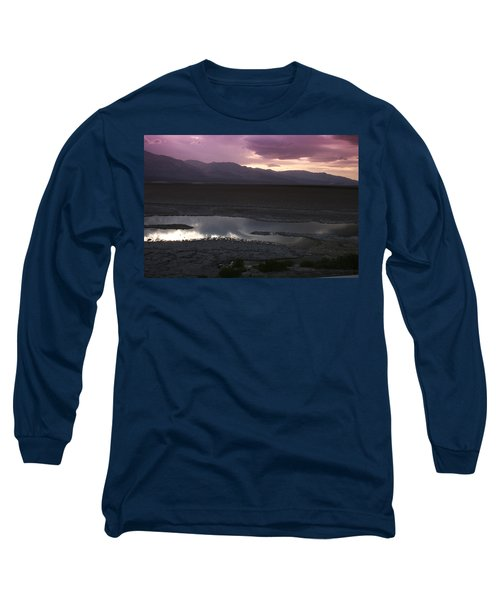 Badwater Basin Death Valley National Park Long Sleeve T-Shirt