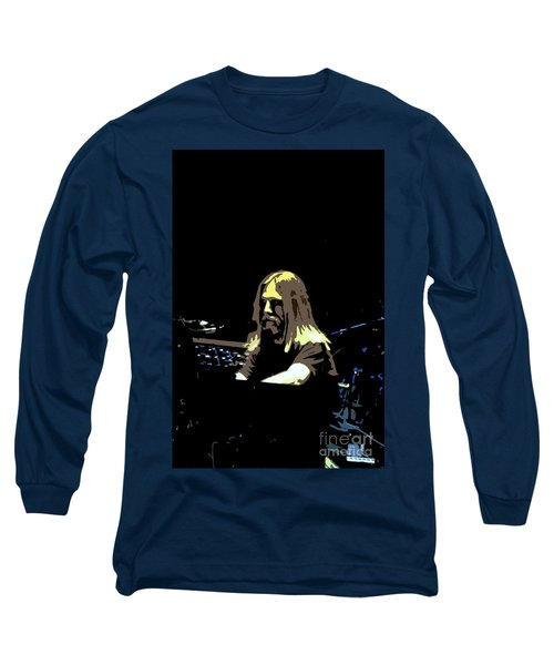 Long Sleeve T-Shirt featuring the photograph Brent Mydland Of The Grateful Dead by Susan Carella
