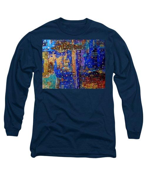 Design For Meditation Long Sleeve T-Shirt