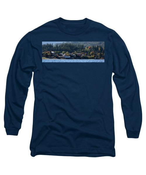 Long Sleeve T-Shirt featuring the photograph Home Sweet Kaslo by Cathie Douglas