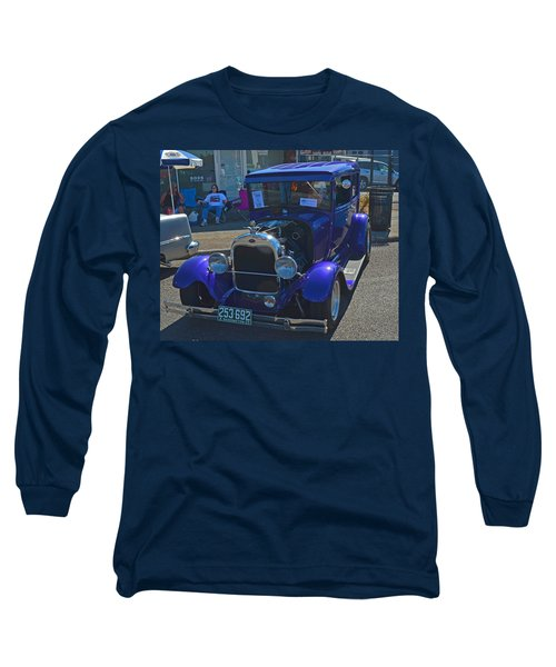Long Sleeve T-Shirt featuring the photograph 1929 Ford Model A by Tikvah's Hope