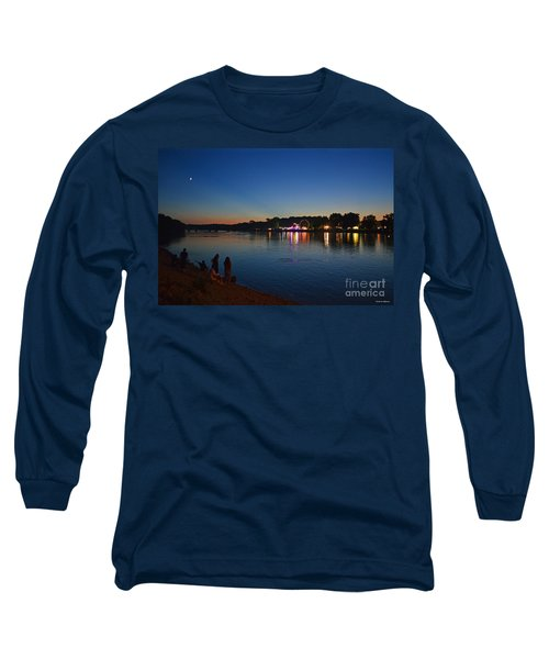 Riverview Long Sleeve T-Shirt by Sue Stefanowicz