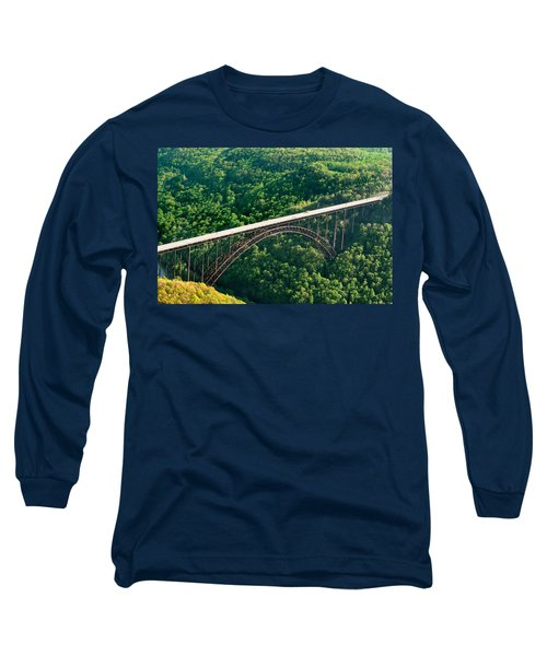 New River Gorge Bridge Long Sleeve T-Shirt