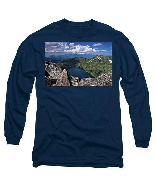 Above Castle Lake Long Sleeve T-Shirt