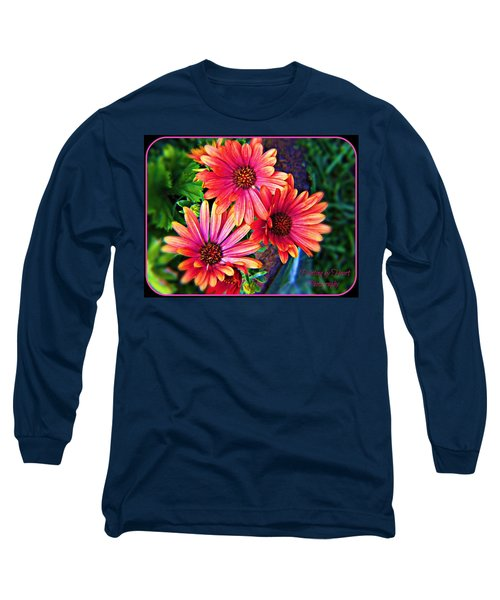 African Daisy Long Sleeve T-Shirt