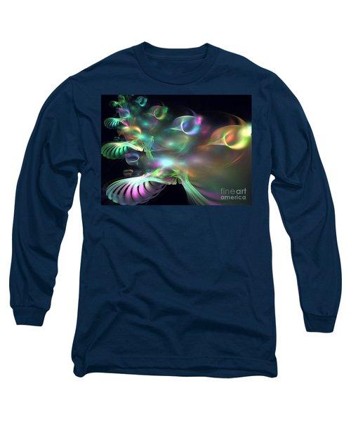 Alien Shrub Long Sleeve T-Shirt by Kim Sy Ok