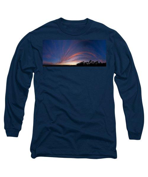 Amazing Clouds Edmonton Long Sleeve T-Shirt