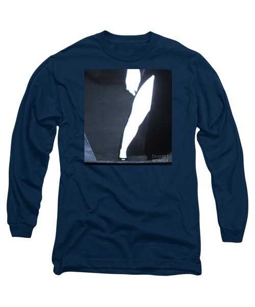Long Sleeve T-Shirt featuring the photograph Angelina Jolie B B W by John King