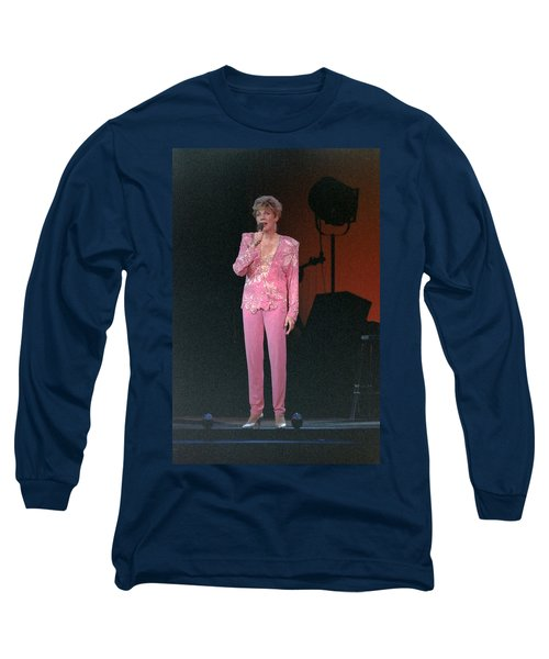 Long Sleeve T-Shirt featuring the photograph Anne Murray by Mike Martin
