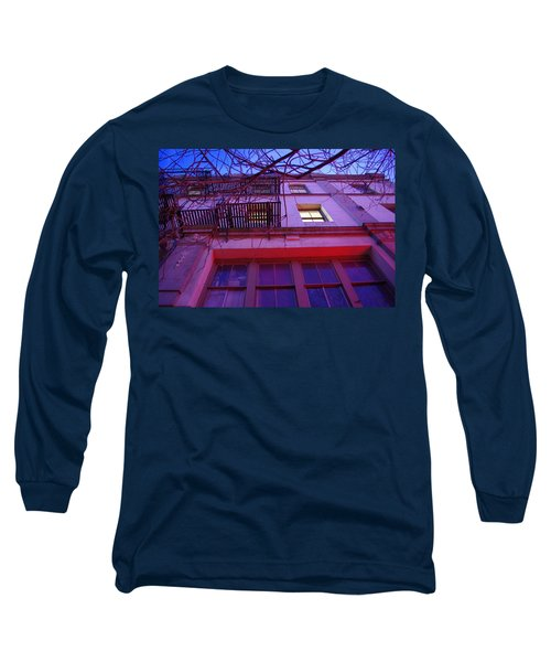 Long Sleeve T-Shirt featuring the photograph Apartment Building by Marilyn Wilson