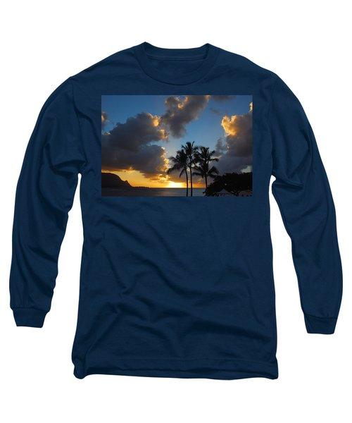 Bali Hai Sunset Long Sleeve T-Shirt by Lynn Bauer