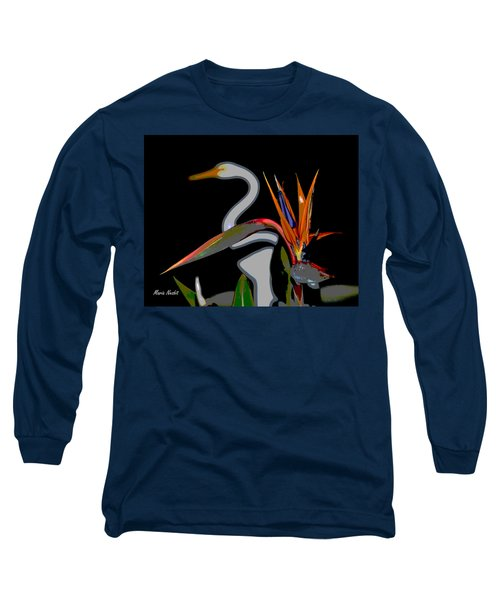 Birds In My Paradise... Long Sleeve T-Shirt
