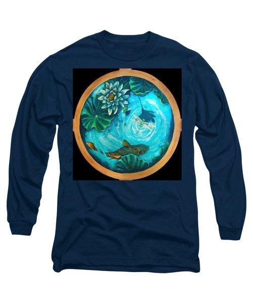 Birdseyedragonfly Long Sleeve T-Shirt by Ashley Kujan
