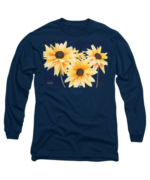 Black Eyed Susans 2 Long Sleeve T-Shirt